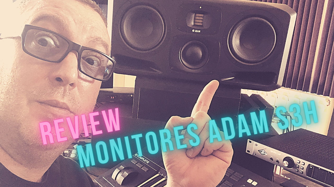 Review Monitores ADAM S3H
